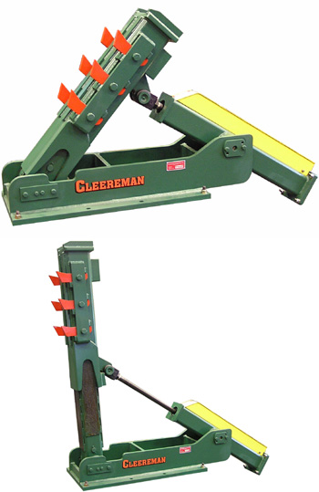 Log Turner - Low Profile Bar Turners - Cleereman Industries